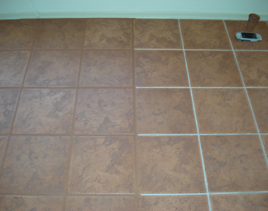 grout colour sealing